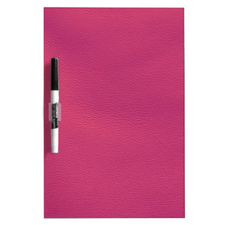 leather structure,hot pink Dry-Erase board