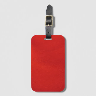 leather structure,red bag tag
