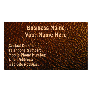 LEATHER STYLE Profile or Business Crads Business Card
