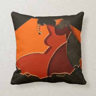 Leather Swatch Study Design #2 Pillow