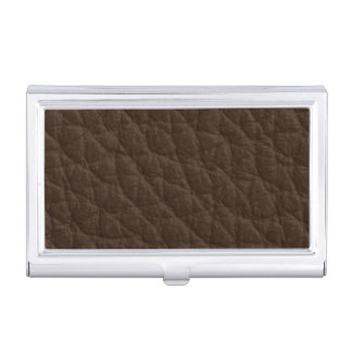 Leather Texture Case For Business Cards