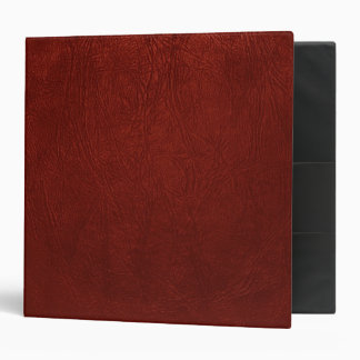 Leather Texture, Leather Background - Red Binder