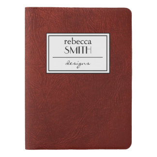 Leather Texture, Leather Background - Red Extra Large Moleskine Notebook