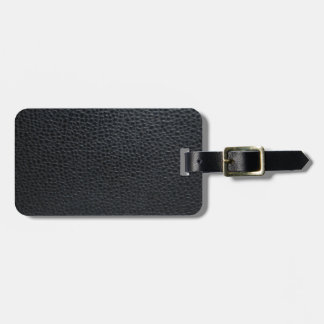 Leather Texture Travel Bag Tag