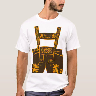 Leather trousers Kingdom of Bavaria Octoberfest T-Shirt