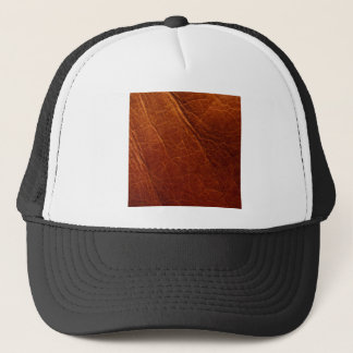 Leather Trucker Hat