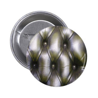 Leather upholstery button