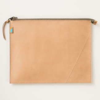 Leather Wristlet - Butterfly Travel Pouch