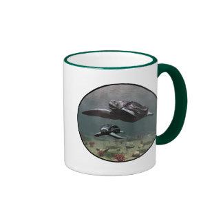 Leatherback turtle mug