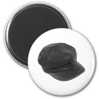 LeatherDrivingCap090411 Fridge Magnet