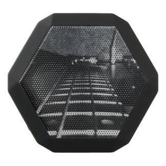 Leathered Black Bass Guitar Boombox Speaker