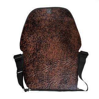 LeatherFaced 1 Messenger Bag