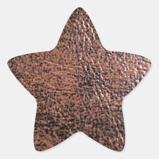 LeatherFaced 1 Pegatina En Forma De Estrella