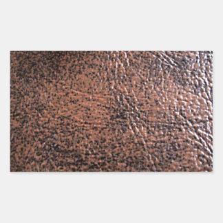 LeatherFaced 1 Pegatina Rectangular