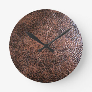 LeatherFaced 1 Round Clock
