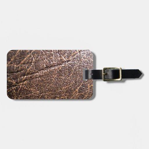 LeatherFaced 3 Etiquetas Bolsa
