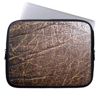 LeatherFaced 3 Laptop Sleeve