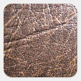 LeatherFaced 3 Pegatina Cuadrada