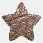 LeatherFaced 3 Pegatina En Forma De Estrella