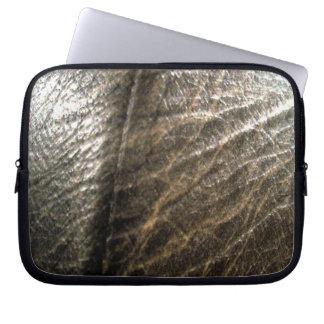 LeatherFaced 4 Laptop Sleeves