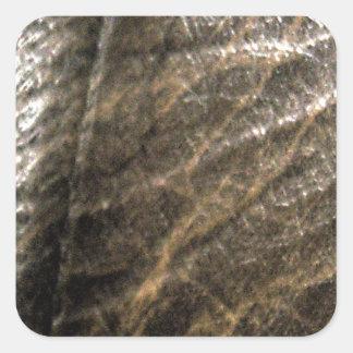 LeatherFaced 4 Pegatina Cuadrada