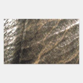 LeatherFaced 4 Pegatina Rectangular