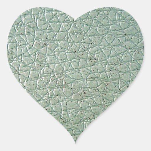 LeatherFaced 6 Pegatina En Forma De Corazón