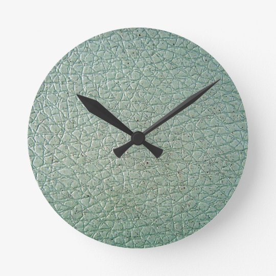 LeatherFaced 6 Round Clock