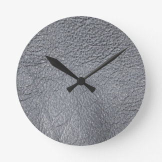 LeatherFaced 7 Round Clock