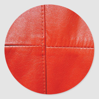 LeatherFaced 8 Etiqueta Redonda