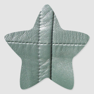 LeatherFaced 9 Pegatina En Forma De Estrella