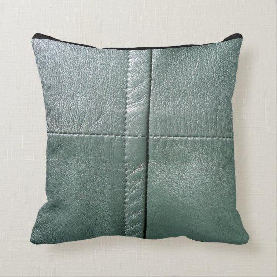 LeatherFaced 9 Throw Pillow