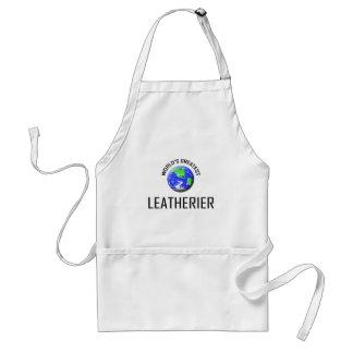 Leatherier más grande del mundo delantales