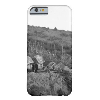 Leatherneck machine gun crew_War image Barely There iPhone 6 Case
