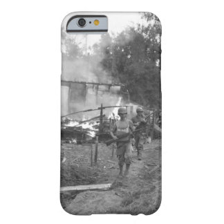 Leathernecks lead patrol between_War Image Barely There iPhone 6 Case