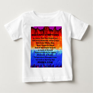 Leather's Burning Flames & Freezing Ice Storms 288 Baby T-Shirt