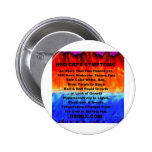 Leather's Burning Flames & Freezing Ice Storms 288 Pinback Button