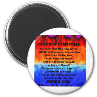 Leather's Burning Flames & Freezing Ice Storms 288 Magnet