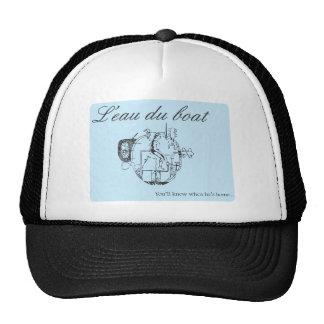 Leau du boat trucker hat