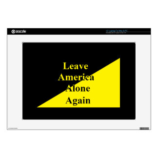 Leave America Alone Again Laptop Skin