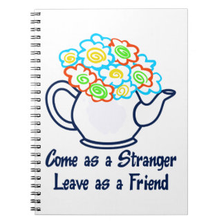 LEAVE AS A FRIEND NOTE BOOK