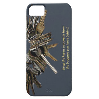 Leave behind the baggage, keep the key! iPhone 5 covers