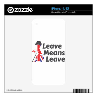 leave decals for the iPhone 4