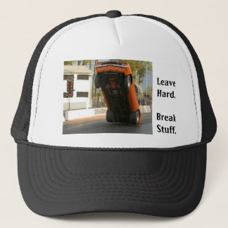 Leave Hard (hat) Trucker Hat