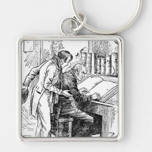 Leave It Alone Key Chains