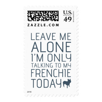 Leave Me Alone, Blue Postage Stamp