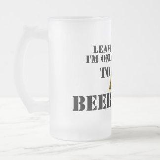 Leave Me Alone - Grumpy Beer Mug
