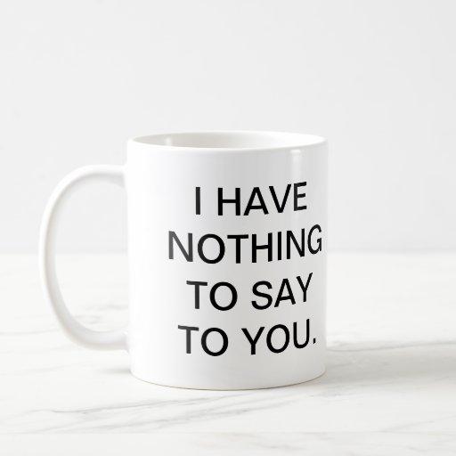 Leave me alone mug