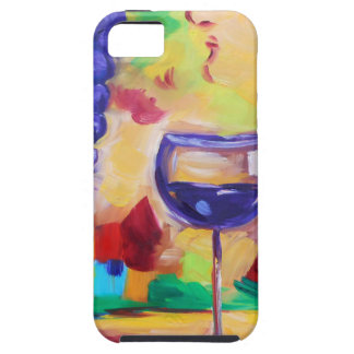 Leave me and my Merlot out of it. iPhone 5 Case