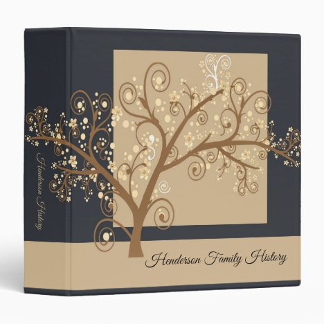 Leave No Stone Unturned Genealogy 3 Ring Binder